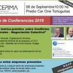 Ciclo de Conferencias 2016 – 2° Jornada